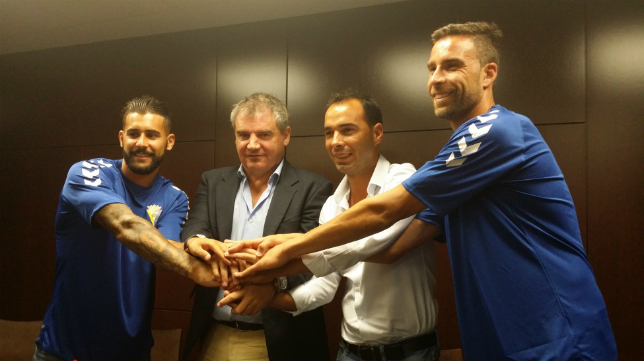 Cristian Márquez, Vizcaíno, Cordero y Alberto Cifuentes