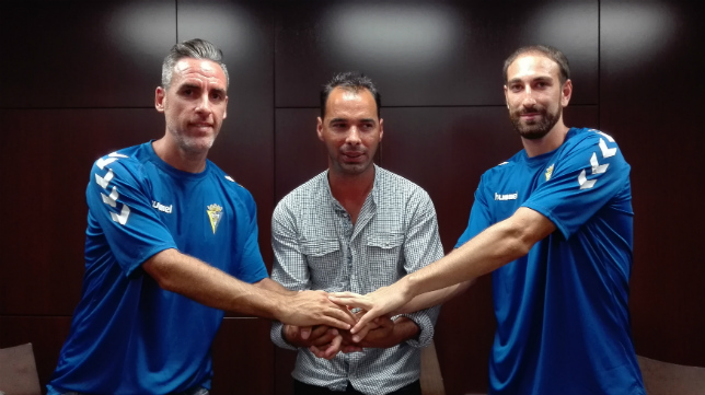 Abel Gómez y Juanjo García han tenido problemas físicos.