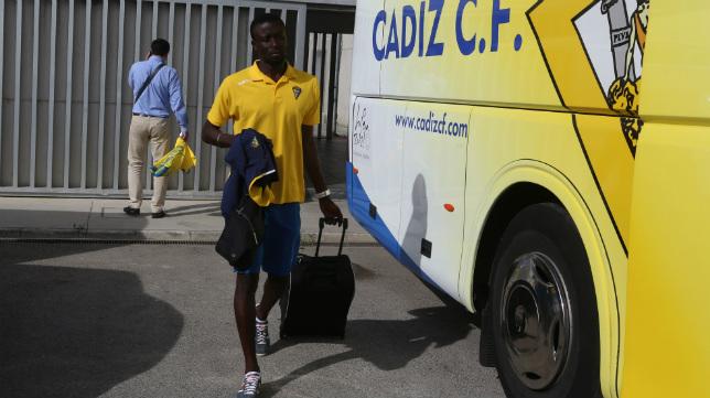 Fall en su etapa en el Cádiz CF.