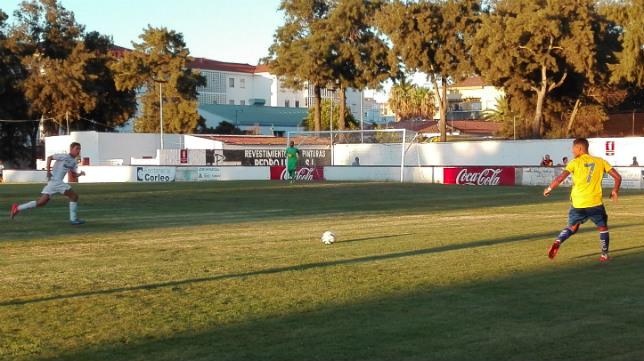 El Cádiz ha disputado en Chiclana su segundo amistoso de la pretemporada.