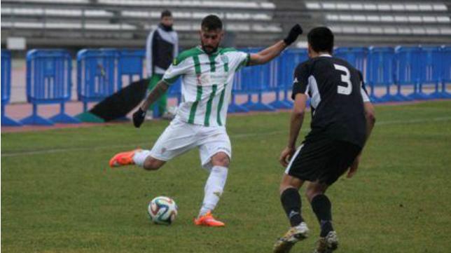 Cristian Márquez en un partido con el Córdoba B (Minuto 90)