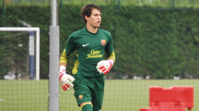 Guille Lara ha pasado las últimas cuatro temporadas en la cantera del FC Barcelona.