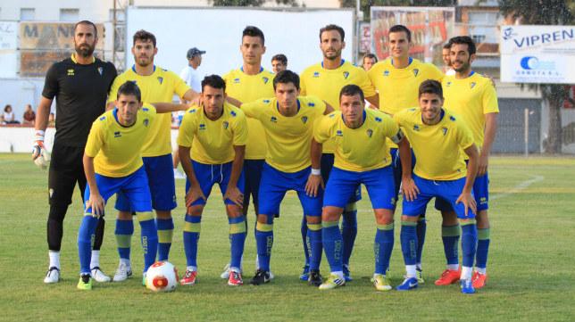 Once que sacó de inicio el verano pasado Antonio Calderón en Chiclana.