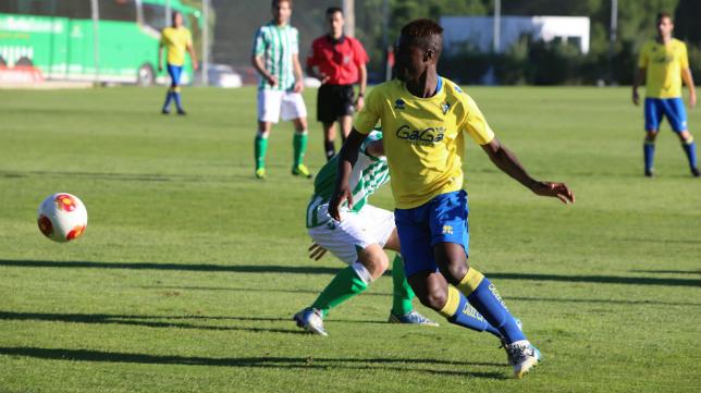 Sana N´Diaye jugará en el Olot, equipo al que fue cedido.