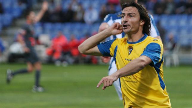 Toedtli marcó 17 goles la temporada 2008-2009, la del ascenso a Segunda con Javi Gracia.