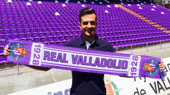 Juan Villar ya ha marcado dos goles con el Valladolid en Segunda