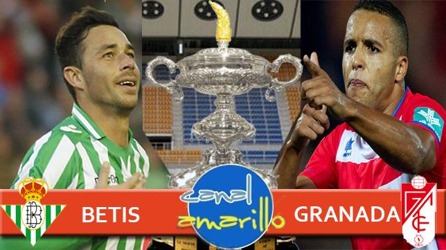 Betis y Granada buscan el pase a la gran final del Trofeo Carranza