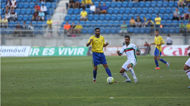 Güiza jugó en Carranza sus primeros minutos
