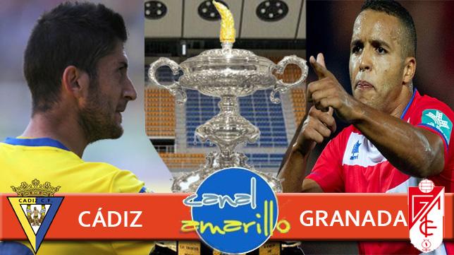 Cádiz CF y Granada se enfrentan en la consolación del Trofeo Carranza