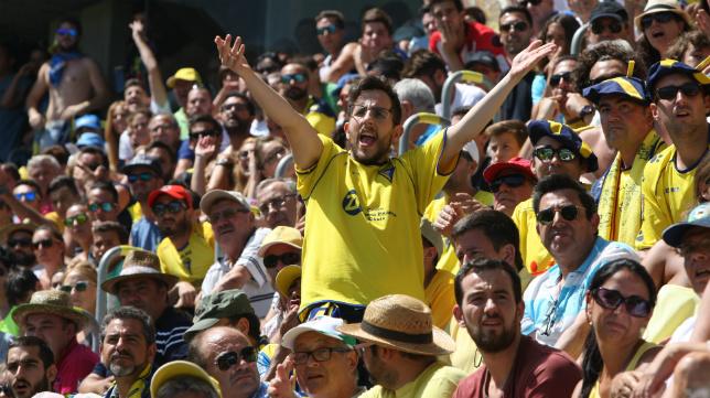 Los aficionados del Cádiz CF han dado nuevo muestras de su fidelidad.