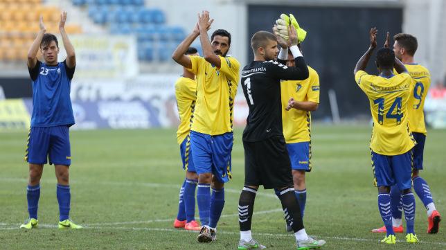 Los jugadores del Cádiz CF saben que se juegan mucho en el inicio de Liga
