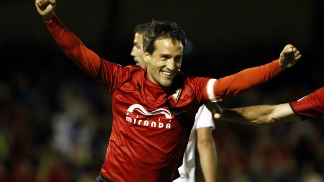 César Caneda ha vestido la camiseta del Mirandés en los últimos cinco años.