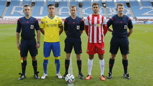 Chavet García ya arbitró el Almería B-Cádiz de la pasada temporada en tierras almerienses