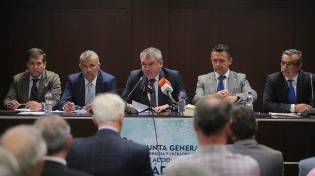 Jorge Cobo, Fran Canal, Manuel Vizcaíno, Diego García y Luis Sánchez Grimaldi.