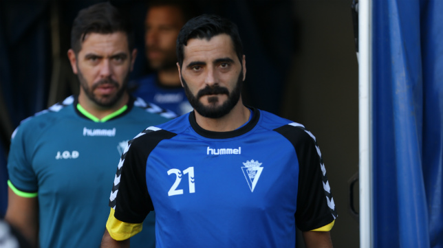 Dani Güiza, ausente en El Rosal