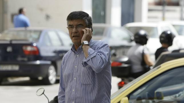 Julio Fernández Peguero, en su etapa como director deportivo del Cádiz.