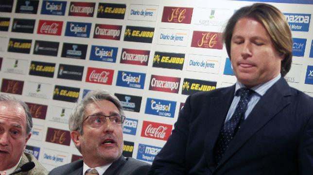 Ricardo García, presidente xerecista.