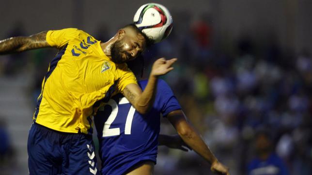 Cristian, lateral derecho del Cádiz CF