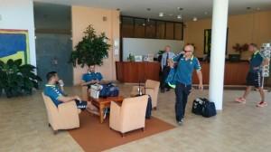 Los jugadores del Cádiz CF descansarán en un hotel en La Palma