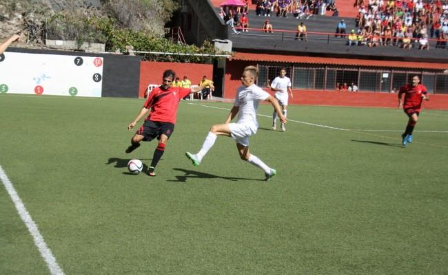 El CD Mensajero jugó el pasado fin de semana ante el Real Madrid Castilla en la Liga / EL DÍA DE TENERIFE