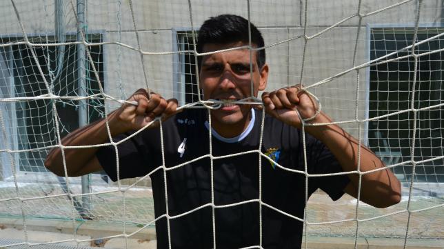 Nacho Navarrete en su etapa en el Cádiz CF