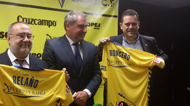 Alfredo Relaño, Manolo Vizcaíno y Tomás Roncero