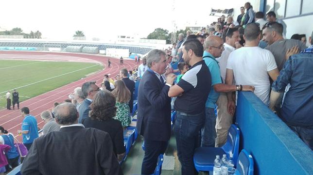 Manolo Vizcaíno y Juan Carlos Cordero en Marbella