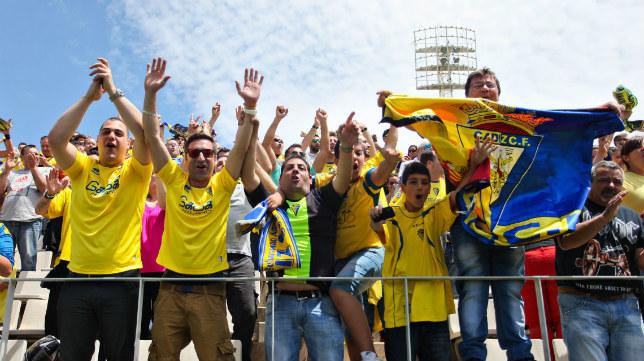 La afición del Cádiz CF acudirá de nuevo a otra cita lejos de Carranza.
