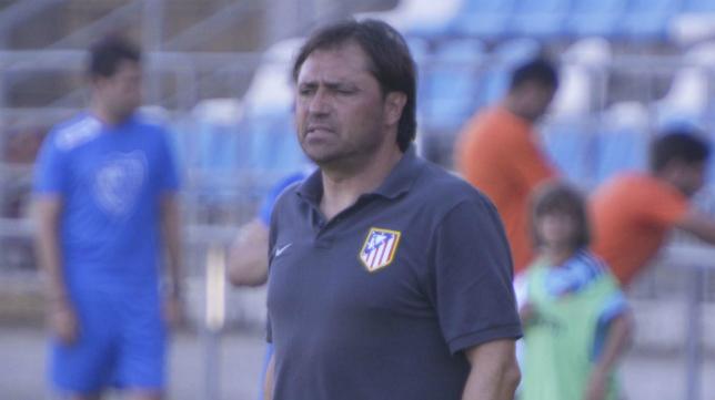 Antes de llegar al Cádiz CF como segundo de Claudio, Alfredo entrenó al Atlético de Madrid C.