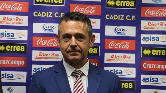 Diego García, exabogado del Cádiz CF.