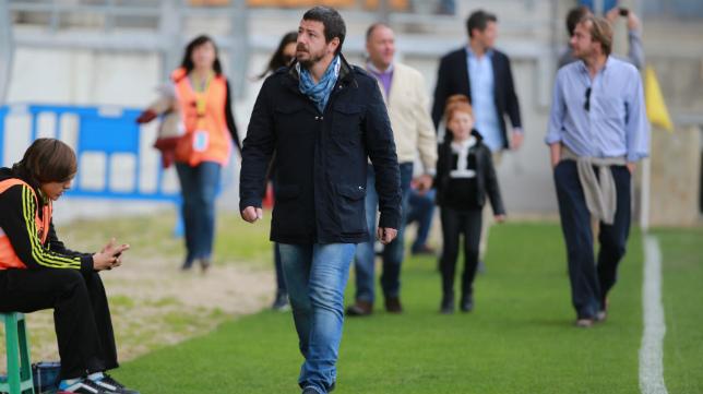 Alessandro Gaucci, en Carranza.