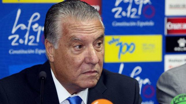 El presidente de honor del Cádiz CF, Juan José PIna.