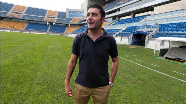 Enrique Ortiz, secretario técnico del Cádiz CF.