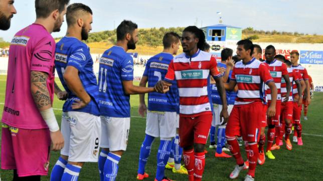 El Granada venció en Linares la pasada semana.