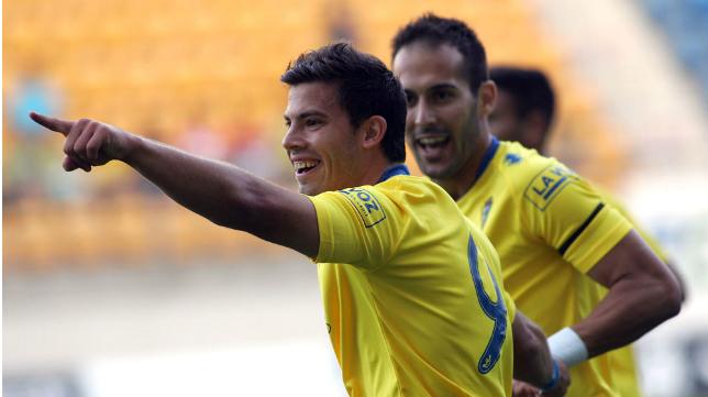Kike López cuando era jugador del Cádiz