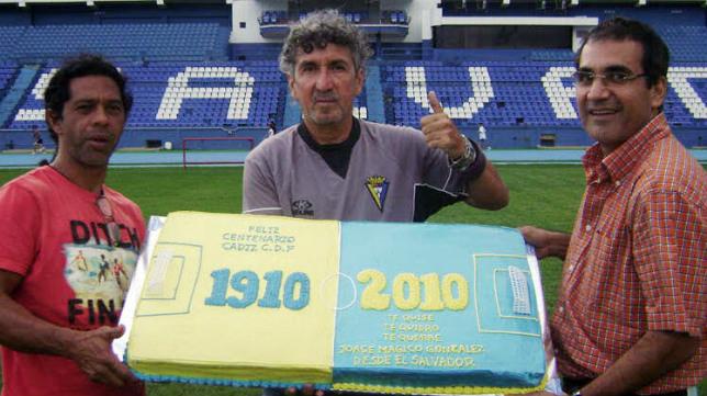 Mágico González celebró el centenario del Cádiz CF hace ya seis años.