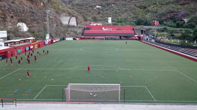 El Silvestre Carrillo acoge el partido de esta tarde del Cádiz CF.
