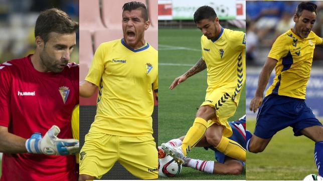 Cifuentes, Josete, Tomás y Abel Gómez son indiscutibles para Claudio