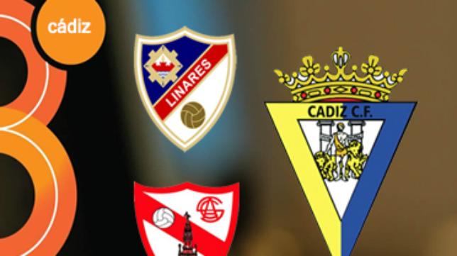 8 Cádiz televisará los duelos en Linares y Sevilla