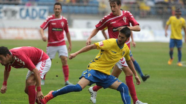 El Real Murcia ha mejorado en todos los sentidos con el avance de la Liga