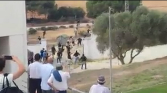 Incidentes en El Rosal antes del Cádiz B - Xerez de la pasada temporada