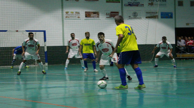 El Cádiz CF Virgili sigue al frente de la clasificación. / FUTSALSUR