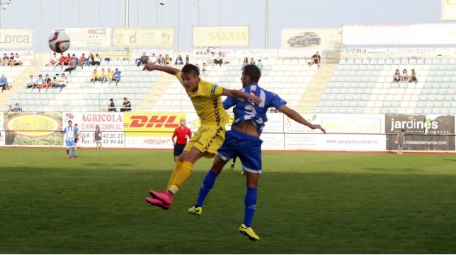 La Hoya y Cádiz CF empataron en la primera vuelta en el Artés Carrasco