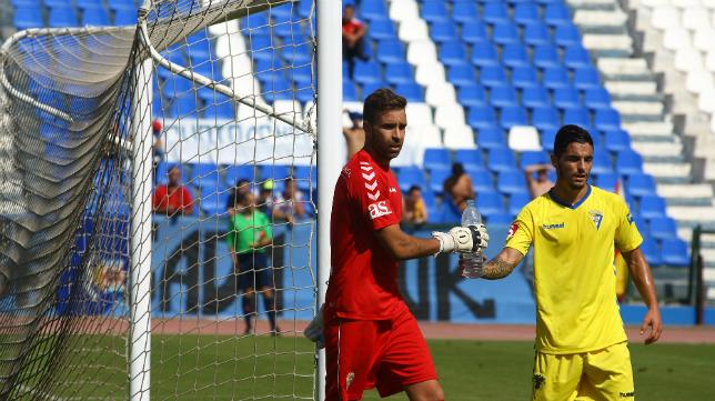 Cifuentes fue el mejor del Melilla vs Cádiz CF