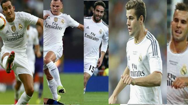 Lucas Vázquez, Cheryshev, Carvajal, Nacho y Jesé pertenecen ahora a la primera plantilla del Real Madrid