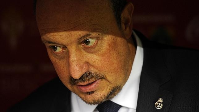 El entrenador Rafa Benítez respalda la postura del Real Madrid en el 'Caso Cheryshev'