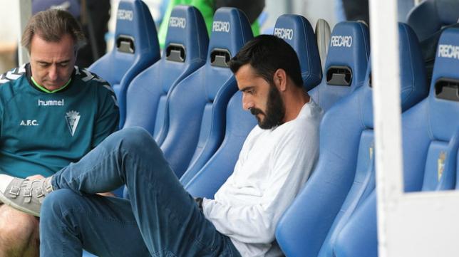 Dani Güiza tampoco jugó ante el Murcia debido a unas molestias