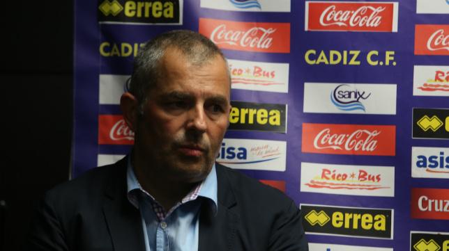 Fran Canal, consejero del Cádiz CF.