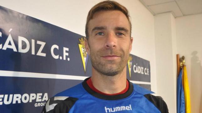 Alberto Cifuentes, portero del Cádiz CF