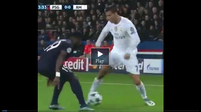 Cristiano Ronaldo utilizó el regate del Mago salvadoreño.